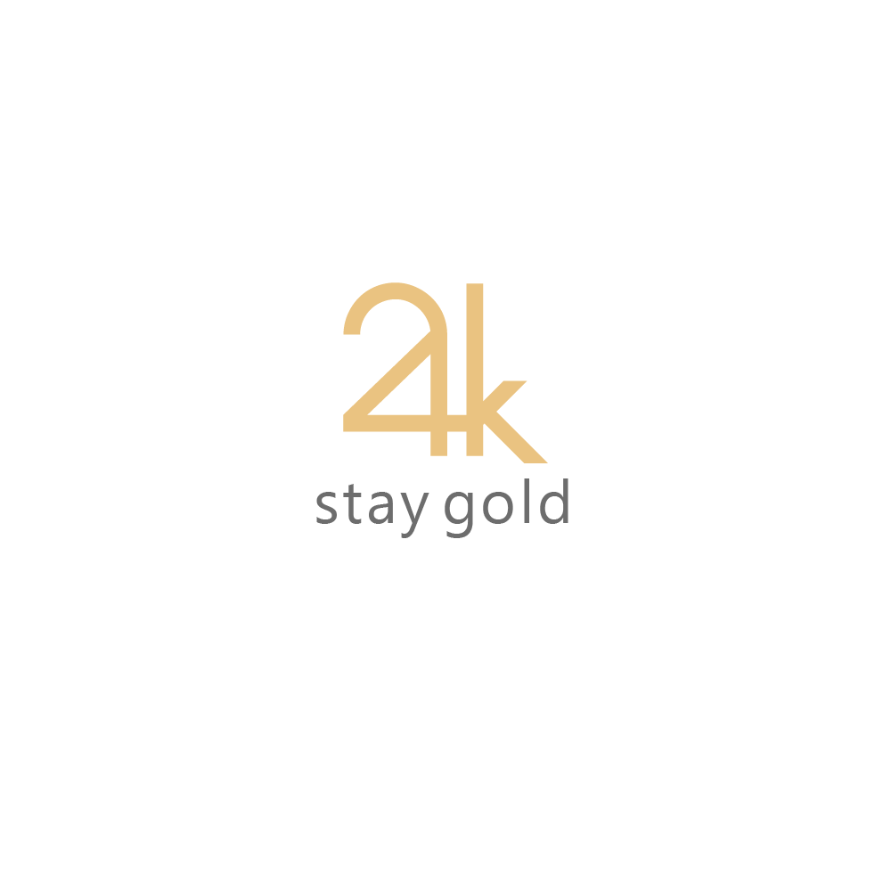 24k stay gold logo for gaming and entertainment company