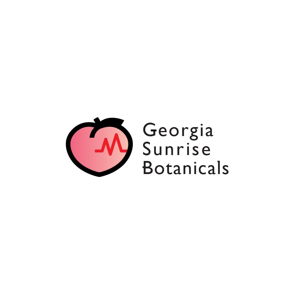 Georgia Sunrise Botanicals Logo for Medicinal CBD Company