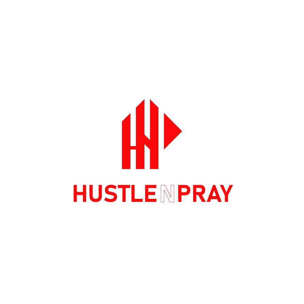 Hustle N Pray Logo - Los Angeles Streetwear - Clothing Brand